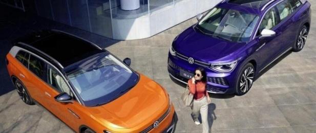 大众ID6:您将无法购买的电动SUV
