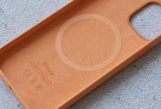iPhone12搭配MagSafe保护套好看吗?实物图赏