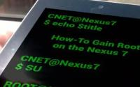 如何扎根您的谷歌Nexus7