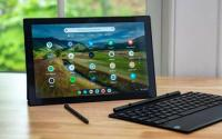 华硕ChromebookDetachableCM3完整的二合一平板电脑包
