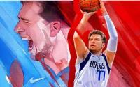 达拉斯小牛队球星卢卡东契奇成为NBA2K22封面运动员的头条新闻
